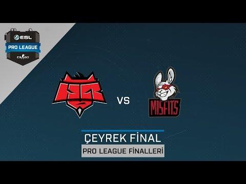 CS:GO - HellRaisers vs. Misfits [Cbble] Harita 1 - Çeyrek Final - ESL Pro League Sezon 6 Finaller