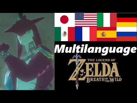 Sidon Multilanguage | Zora Prince | Zelda Breath of the Wild