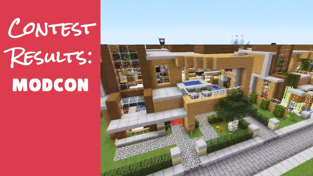 Minecraft Furniture Server Mod Con Interior Design Contest