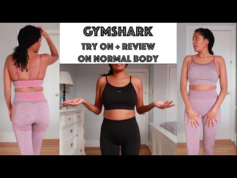 """Gymshark Try On + Review   On """"Normal"""" Body"""