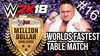 WINNING A TABLES MATCH BY PUTTING YOURSELF IN IT! - Million Dollar Challenge