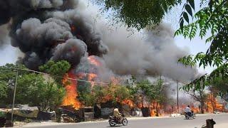 रेल कोच फैक्ट्री में आग || Fire In Rail Coach Factory Kapurthala || Kapurthala