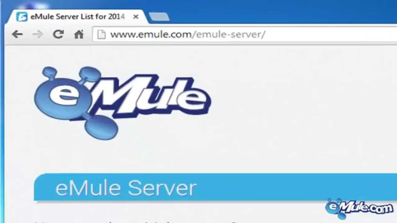Updating server list emule
