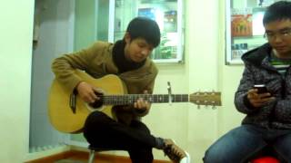 bản tình ca mùa đông!.MP4 - guitar cover