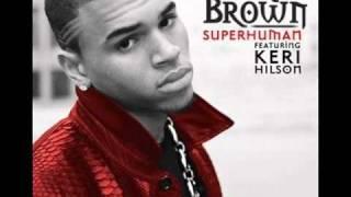 Superhuman-Chris Brown and Keri Hilson karaoke/instrumental lower