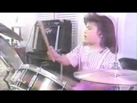 Crystal Vargas playing Percussion AGE 6