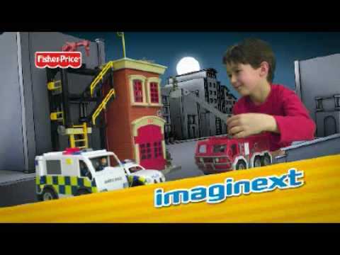 Fisher-Price Imaginext Fire Station - Toys R Us