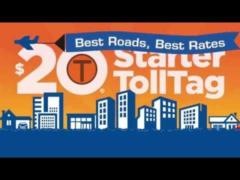 NTTA $20 Starter TollTag - Animated Video