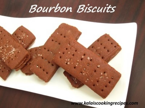 Bourbon Biscuits | Simple Bourbon Biscuits And Cocoa Butter Cream
