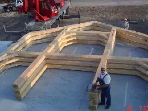 Timber frame revealed a timber frame home in naples fl for Wood frame house in florida