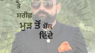 Trend Sidhumoosewala new Punjabi song WhatsApp Status