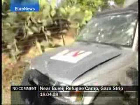 Near Bureij Refugee Camp - Gaza Strip