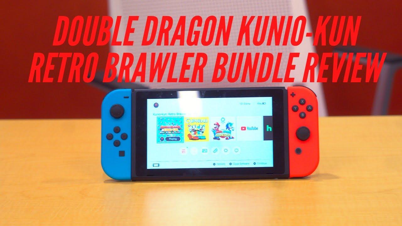 Double Dragon Kunio Kun Retro Brawler Bundle Review Youtube