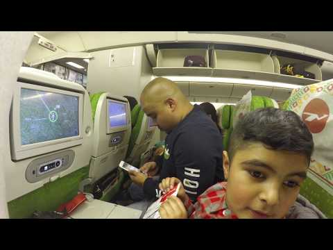 Biman Bangladesh Airlines 777 Heathrow to Sylhet pt1