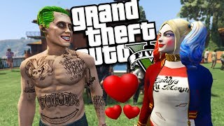 The Joker & Harley Quinn GET MARRIED MOD (GTA 5 PC Mods Gameplay)