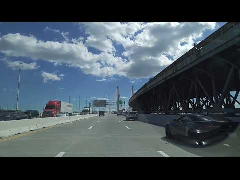 Driving from Maspeth in Queens to Little Italy in Manhattan,New York