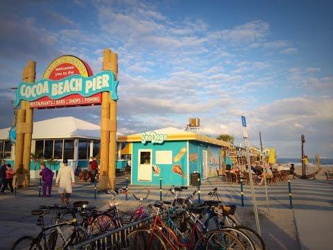 COCOA BEACH PIER TOUR/VLOG 2015