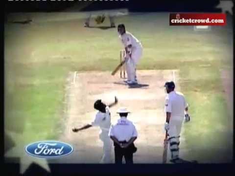 Lasith Malinga test debut (Australia vs Sri Lanka) Darwin, Jul 1-3, 2004