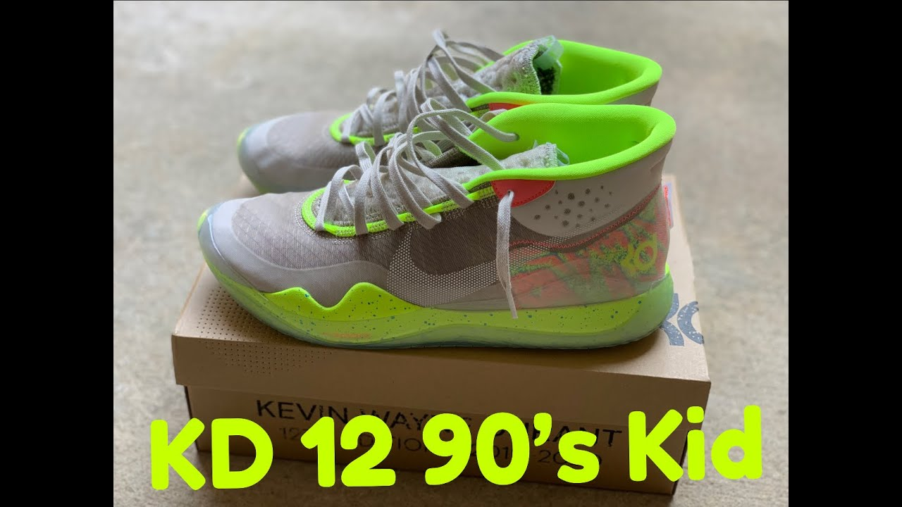 KD 12 90's Kid On Foot (Can you pull