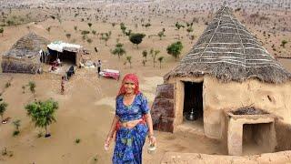 भारत की मरुभूमि के गाँव 👉 कैसे रहते है लोग ? Life in thar desert Rajasthan #shubhjourney #village