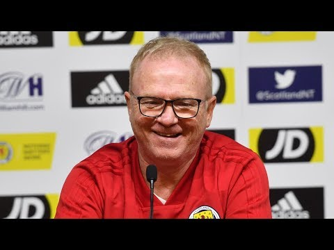 Alex McLeish Press Conference | Scotland v Israel
