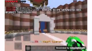 Minecraft Pe Türkçe #2 oyuntr server tanıtımı