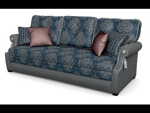 Софа - диван для гостиной с механизмом еврософа фабрики мебели Андерссен