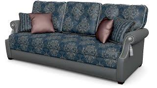 Зимняя Венеция Л - диван для гостиной еврософа фабрики Андерссен(http://anderssen.ru/, 2014-09-17T15:37:59.000Z)