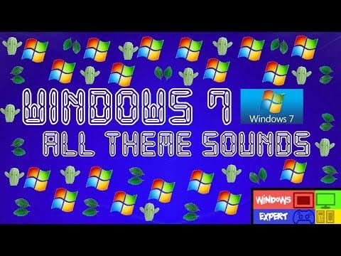 MICROSOFT WINDOWS 7 ALL THEME SOUNDS