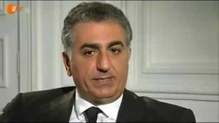 Reza Pahlavi of Iran interview with ZDF Heute Journal (in German)