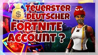Le compte GERMAN FORTNITE le plus cher !!! (149 SKINS)