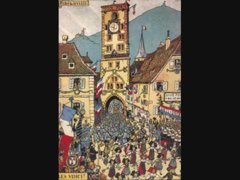 Vous n'aurez pas l'Alsace et la Lorraine !(French revanchist song between 1871 and 1918)