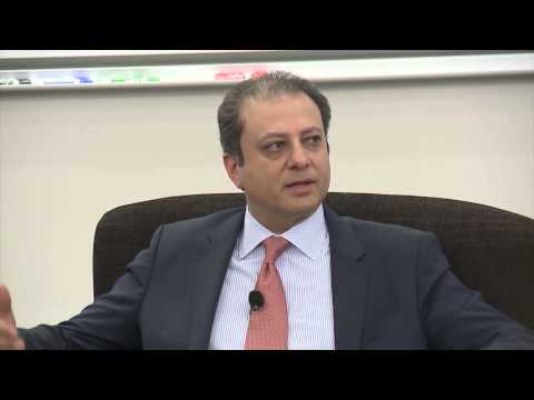 U.S. Attorney Preet Bharara on Leading Ethical Organizations