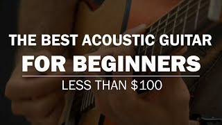 The Best Acoustic Guitar For Beginners (LESS THAN $100) | Jasmine S35 Review