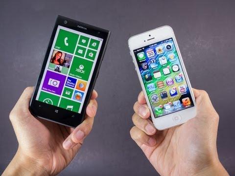 Nokia Lumia 1020 vs Apple iPhone 5