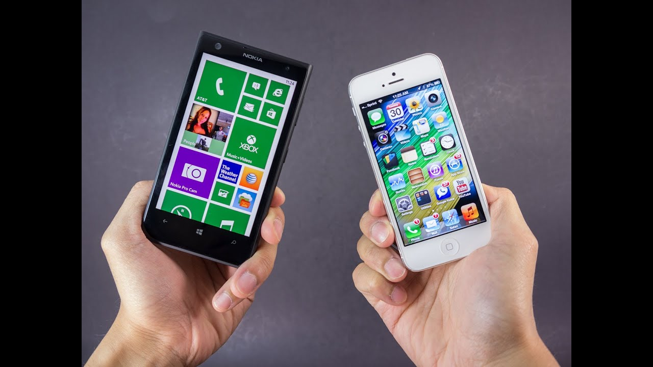 5 Iphone 1020 Lumia Vs Nokia Apple