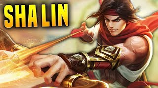 Crazy Speed Sha Lin Is Ridiculous! | Paladins 2.01