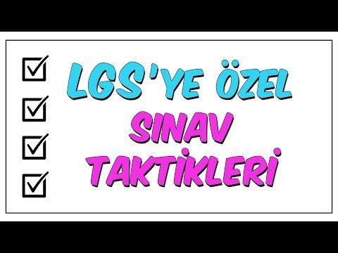 LGS'ye ÖZEL Sınav Taktikleri