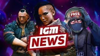 IGM News: геймплей Cyberpunk 2077 и бесплатная CS:GO