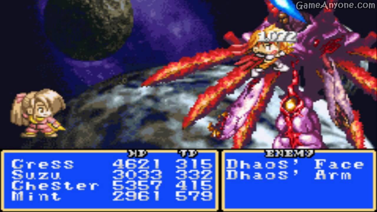 Tales of Phantasia Narikiri Dungeon strategy guide book ...