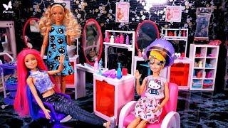 Metamorfoza Barbie i szalona siostra  Gosposia Ken?!  Bajka po polsku z lalkami Rodzinka