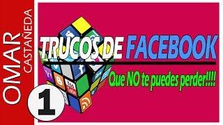 TRUCOS PARA FACEBOOK QUE NO TE PUEDES PERDER!!
