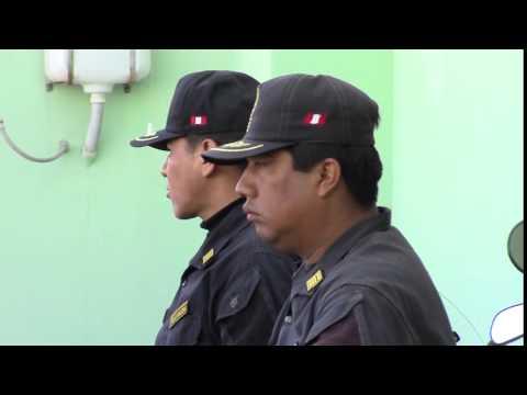 Comisario sectorial de El Pedregal Majes, Cmte. PNP Max García Esquivel,