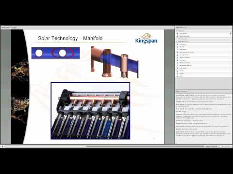 Green Technology Webinar - Kingspan Solar