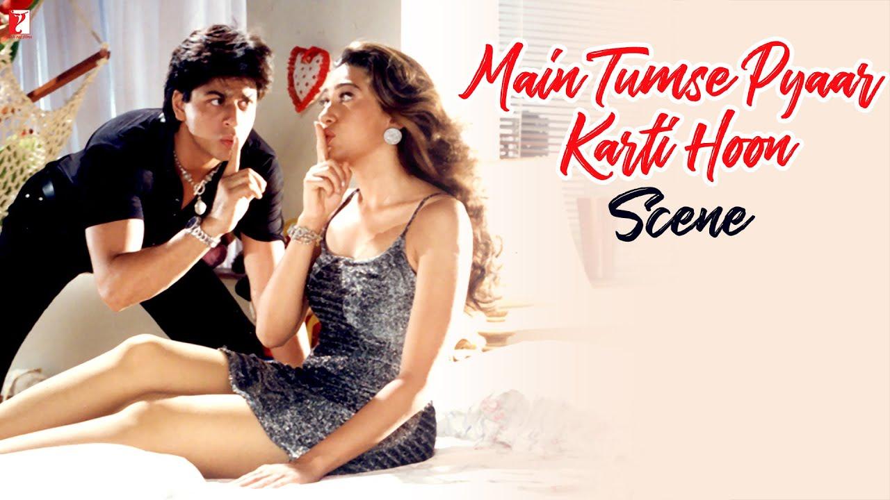 Scene: I Love You   Rahul   Dil To Pagal Hai   Shah Rukh Khan   Karisma  Kapoor