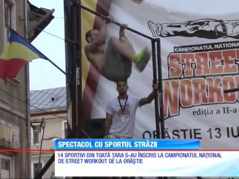 Fitness Urban Romania - Campionatul National de Street Workout (Antena1 - Observator)