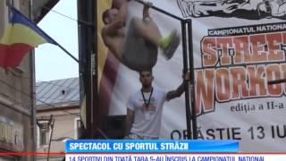 Fitness Urban Romania - Campionatul National de Street Workout (Antena1 - Observator)