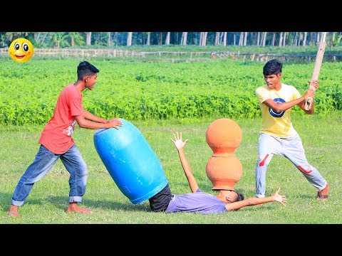 New Top Funny Comedy Video 2020__Very Funny Stupid Boys__Episode-122--Indian Fun    ME Tv