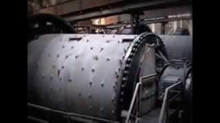 видео барабанная шаровая мельница