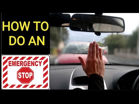 How To Do An EMERGENCY STOP || Road Test Tips || Toronto Drivers